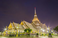 Chapel of Thai temple Royalty Free Stock Photo