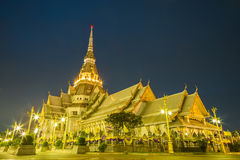 Chapel of Thai temple Stock Photography