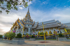 Chapel of Thai temple Stock Image