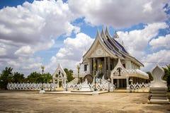 Chapel Thailand beautiful white grand. Stock Photos