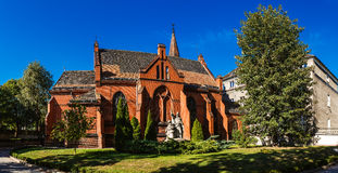 Chapel of Theological Faculty in Poznan, Poland Stock Photography
