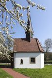 The chapel to the seven pains of Marien in Hagen on the Teutoburg forest, area Gellenbeck in the Osnabrueck country, Germany Stock Image