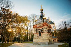 Chapel-tomb of Paskevich in Gomel, Belarus Stock Image