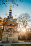 Chapel-tomb of Paskevich in Gomel, Belarus Stock Images