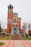 Chapel-tomb of the princes Svyatopolk-Mirski. Mir. Republic of Belarus Royalty Free Stock Photos