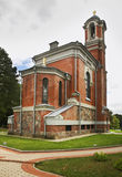 Chapel-tomb of Svyatopolk-Mirski near castle in Mir. Belarus.  Royalty Free Stock Photo