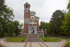 Chapel-tomb of Svyatopolk-Mirski. Peace. Belarus Stock Images