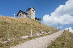 Chapel on the top of Mt. Rigi Stock Photography