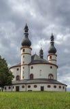 Chapel of the Trinity (Dreifaltigkeitskirche Kappl), Waldsassen, Royalty Free Stock Photos