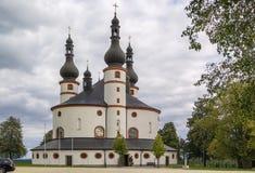 Chapel of the Trinity (Dreifaltigkeitskirche Kappl), Waldsassen, Royalty Free Stock Photography