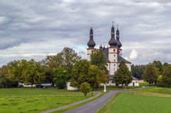 Chapel of the Trinity (Dreifaltigkeitskirche Kappl), Waldsassen, Royalty Free Stock Images