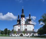 Chapel of Trinity Kappl. Near Waldsassen in Bavaria/Germany royalty free stock photos