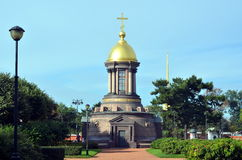 Chapel of the Trinity, St  Petersburg. Russia Royalty Free Stock Photography