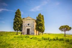 Chapel in Tuscany Stock Photo