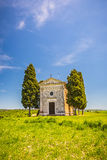Chapel in Tuscany Stock Photography