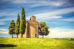 Chapel in Tuscany Stock Image