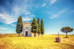 Chapel in Tuscany Royalty Free Stock Images