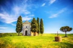 Chapel in Tuscany Stock Photos