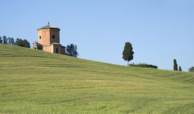 Chapel in Tuscany Stock Images