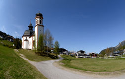 Chapel in Tyrol. Royalty Free Stock Photo