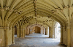 The Chapel Undercroft Lincolns Inn London Royalty Free Stock Photos