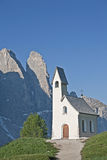 Chapel on Val Gardena Royalty Free Stock Image