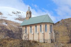 Chapel in Valloire, France Royalty Free Stock Images