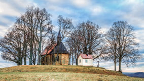 Chapel at the Veitsberg in Bavaria Stock Images