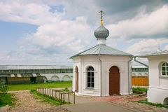 Chapel of Venerable Nikita Stylites( Russia 1768) Royalty Free Stock Photos