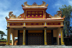 Chapel in Vietnam. The new chapel in Vietnam with blue sky Royalty Free Stock Photography