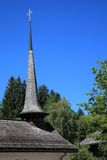 Chapel of the village of Gstaad Stock Photography