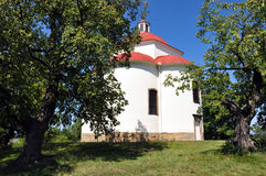 Chapel - village Tetcice. Chapel in the summer, village - Tetcice, the Czech Republic Stock Images