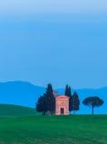 The Chapel of Vitaleta Stock Photography