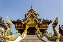 Chapel In Wat Banden, Chiangmai Thailand Stock Photo