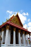Chapel of wat pho, Bangkok Royalty Free Stock Images