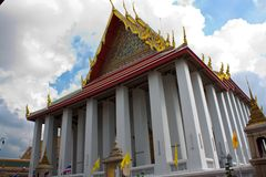 Chapel of wat pho, bangkok Royalty Free Stock Image