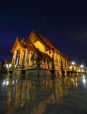 The Chapel of Wat Suthat Stock Photo