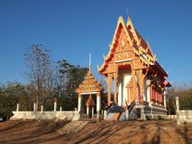 Chapel  at Wat Thailand. Architecture Stock Image