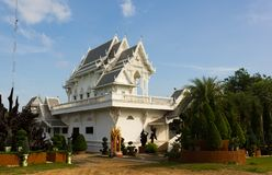 Chapel Wat tham Khuha Sawan Ubon Ratchathani , Thailand Stock Image
