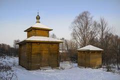 Chapel of water near church of St. Nicholas. Murom. Russia. Stock Photo