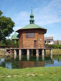 Chapel on water, Radecznica, Poland Royalty Free Stock Images
