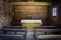 Chapel on the west. Royalty Free Stock Image