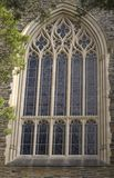 Chapel Window. An image of an ornate window on a chapel royalty free stock photo