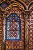 Chapel window Stock Image