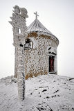 Chapel in winter Stock Images