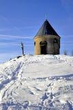 Chapel in winter Stock Image