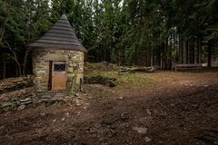 Chapel in the wood Stock Images