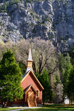 Chapel. In Yosemite National Park royalty free stock images