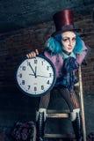 Chapeleiro louco - Alice no país das maravilhas fotografia de stock