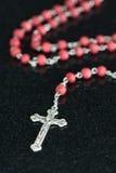 Chapelet chrétien catholique Image stock